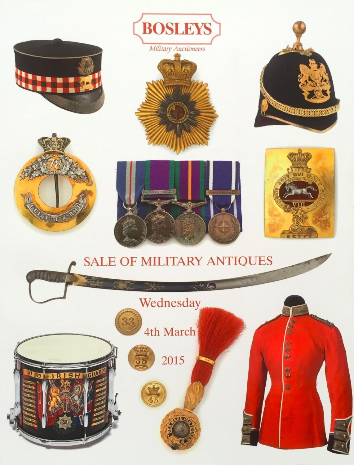 Military Antiques - March 2016