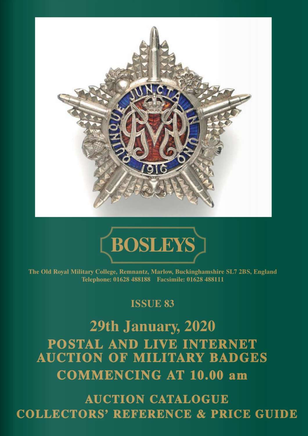 ORIGINAL MILITARY BADGES, TITLES & FORMATION SIGNS JANUARY 2020