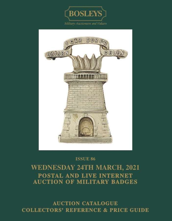 ORIGINAL MILITARY BADGES, TITLES & FORMATION SIGNS 24th MARCH 2021