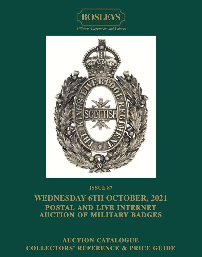 ORIGINAL MILITARY BADGES, TITLES & FORMATION SIGNS 6th OCTOBER 2021